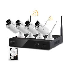 xmartO-Audio & Video, Wireless Security Camera System 4CH 960p HD NVR with 4x...