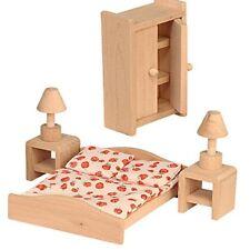 Camera da letto 6 teilig per Mobili Casa delle Bambole Puppenstube Beluga