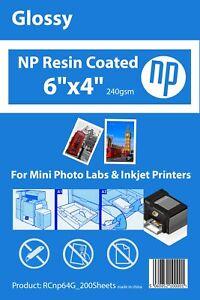 4 x 6 Glossy Premium Photo Paper 240gsm