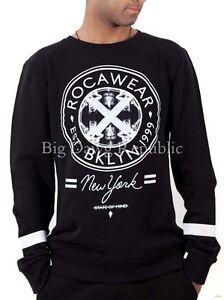 Rocawear Men's New York Brooklyn Sweatshirt, New Star Era G, Is Money Time