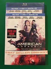 American Assassin Blu Ray + DVD+ HD & Slipcover Brand New Free Shipping