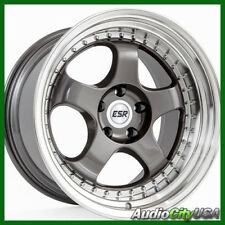 18x9.5 ESR SR06 WHEEL Gun metal 5-114 ET+35 fit  IS250 ES250 ES300 ES330 GS300