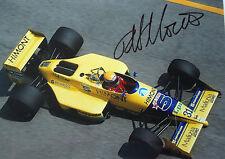Roberto Moreno SIGNED, F1 Coloni FC188B , Monaco GP 1989