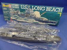 """1/500  Revell  (1987):   Atomic Cruiser """"U.S. Long Beach"""""""