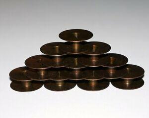 PFAFF Bronze Metal Bobbins - Old Style (10pk)