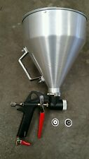 5 Liter aluminium air hopper texture concrete render spray gun Premium Quality