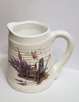 Keramik Kanne Kännchen Krug Vase Deko Lavendel vintage Landhaus shabby