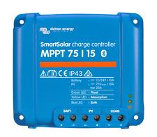 Solar Laderegler Victron SmartSolar MPPT 75/15  für 12 + 24 Volt, mit Bluetooth
