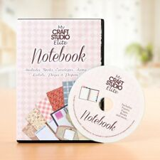 Tattered Lace NOTEBOOK CD ROM My Craft Studio Elite Images & Backgrounds