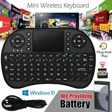Mini Wireless Keyboard for Smart TV Android Box PC 2.4GHz with Touchpad SNU