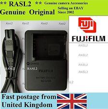 ORIGINALE Fujifilm CARICABATTERIE BC-W126 x-t10 FinePix HS50 HS35 HS33 HS30 EXR
