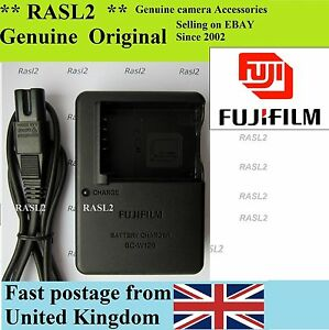Genuine FujiFilm Charger BC-W126 NP-W126 XT10,X-T1,X-Pro2,X-Pro1 X-E1 X-E2 X-M1