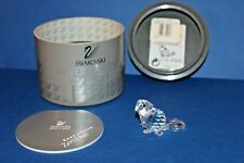 Swarovski Crystal * Sitting Baby Beaver* 7616000002 / 164638 Retired & Rare