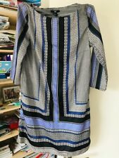 H&M Geomtric Pattern Dress UK 12