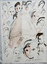 Treccani Ernesto (Milano,1920-2009) -Litografia a colori (1988)- Ed.Grafica Uno