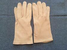 Vintage Sandy Pink Color Wrist Length Ladies' Gloves Clean