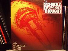 "SCHOOLZ OF THOUGHT + 88-KEYS - WORLD WIDE MCS (12"")!! ♫"