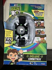 Ben 10 Deluxe Omnitrix Role Play Watch 100+ Alien Phrases & Sound FX New In Box