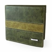 Mens Luxury Soft Quality Leather Wallet ID Window Credit Card Holder Purse Gift