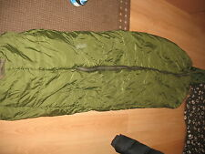 BRITISH ARMY ARCTIC SLEEPING BAG with Stuff Sack, size Large