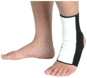 ISAMI Ankle Supporter 1 piece Made in Japan White L