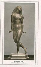 """Bild """"Exotischer Tanz"""" aus altem Buch  (OR1)"""