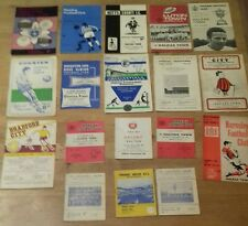 18 Different 1960s Halifax Town Away Programmes - All Listed – Bulk 169