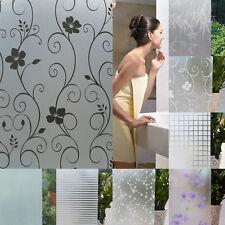 Waterproof Frosted Window Film Environmental PVC Sticker for Bedroom Bathroom