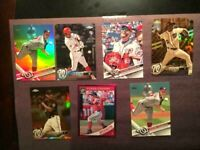 Topps Chrome Victor Robles Nationals Rookie 7 Baseball cards Lot-W/Strasburg🔥MT