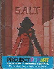 BLU RAY : SALT  (ANGELINA JOLIE )  EDIZIONE  STEELBOOK  NUOVO SIGILLATO