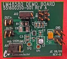 Texas Instrument Lm48580tlbdnopb Evaluation Board For Ic Amp Audio Speaker Dvr
