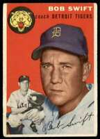 1954 Topps Set Break Bob Swift Detroit Tigers #65