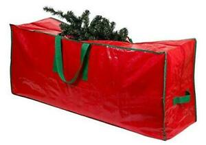 Christmas Tree Storage Bag - Stores a 9-Foot Artificial Xmas Holiday Tree. Red