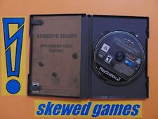 Airborne Troops Countdown To D Day - DDay - cib - PS2 PlayStation 2 Sony