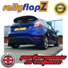 rallyflapZ FORD FIESTA ST180 (2008+) Mud Flaps Spirit Blue Qty4 Polyurethane PU