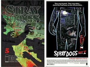 Stray Dogs #5 Cover A B Variant Set Options Movie Horror Image Presale 6/23