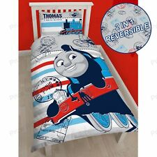Thomas & Friends «Aventure» SET Housse de couette simple 2 in 1 réversible