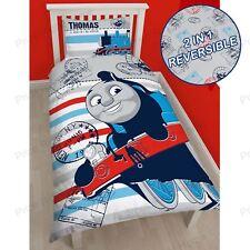 Thomas & Friends 'AVVENTURA' copripiumino per letto singolo set di 2 IN