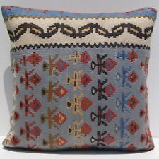 """18"""" home design pillow kilim case Turkish senneh handwoven square ares rugs"""