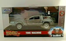 2020-Jada-Hollywood Rides-Back to the Future II-Time Machine- Die Cast-1:50-8+