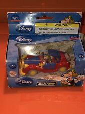 "Topolino Die Cast Motorama Disney Uncle Scrooge McDuck Limousine Car MIB 3.5"""