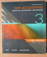 TAFE ACCOUNTING FINANCIAL ACCOUNTING APPLICATIONS 3 EDITION 3