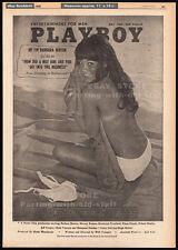BARBARA (BARBI) BENTON__Original 1969 rare Trade AD film promo / Playboy poster