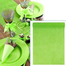 Tischläufer, 10m, Limettengrün, 30cm breit, Vlies