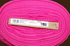 NEW ON BOLT SOLID FUCHSIA/HOT PINK FLEECE FABRIC MATERIAL SOLD BY THE YD 60X36""