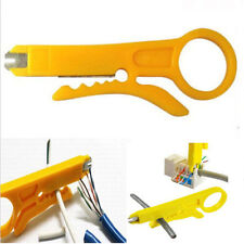 New Network Connection Wire Punch Down Cutter Stripper For RJ45 Cat5 Cable Tool