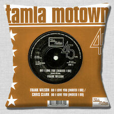 Tamla Motown Cushion Cover Northern Soul 16 Inch 40cm Frank Wilson Do I Love You