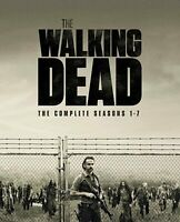 The Walking Dead Complete Seasons 1-7 Blu Ray DVD Box Set Series - Brand New