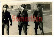 B14 WW2 ORIGINAL GERMAN WEHRMACHT LUFTWAFFE OFFICERS WITH DAGGER PHOTOGRAPH