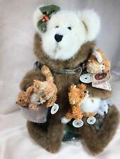 Vintage 15� Boyds Bear Gen yoo wine T Js Best Dressed Bears with 5 T F Wuzzies